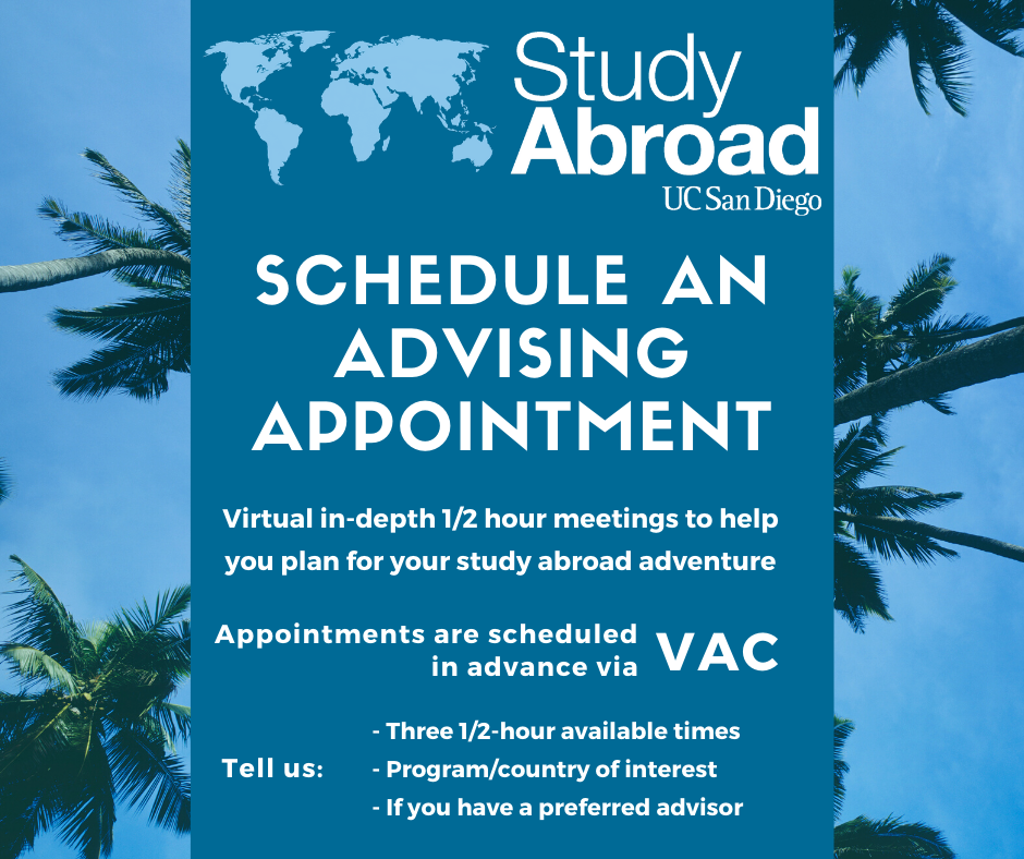 virtual advising appointment